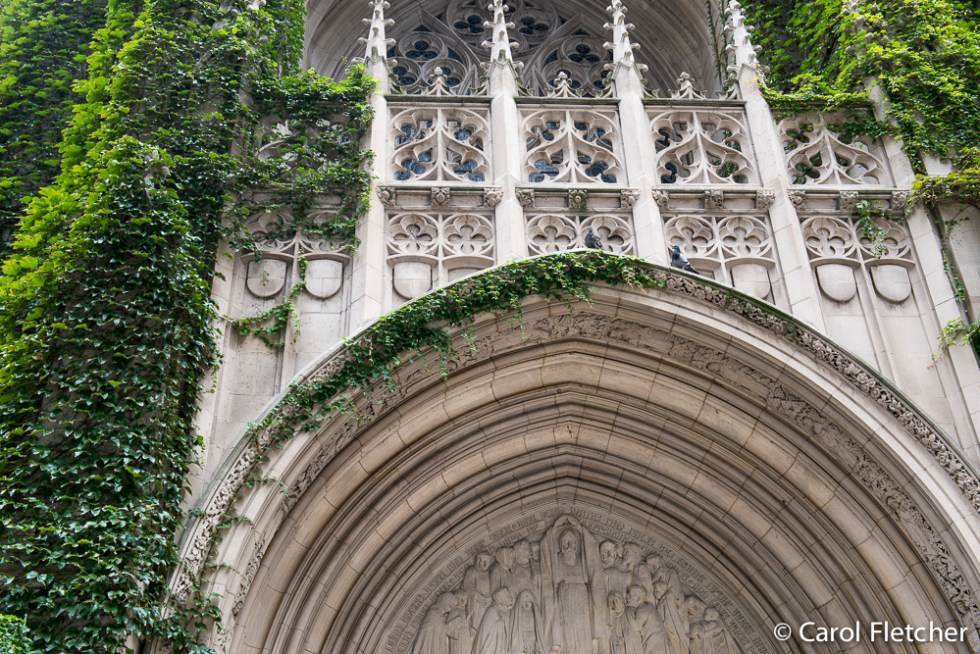 Fourth Presbyterian Church ivy