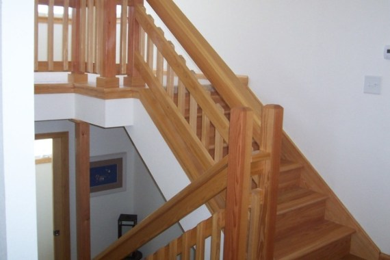 Outer Banks custom interior design of staircases