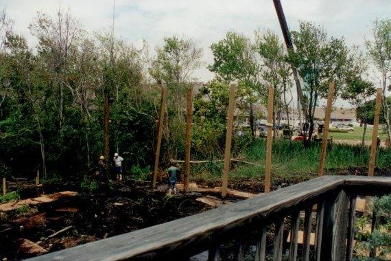 Duck United Methodist Church piling foundation
