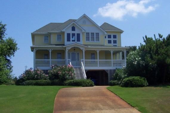 Custom home design in Kitty Hawk North Carolina