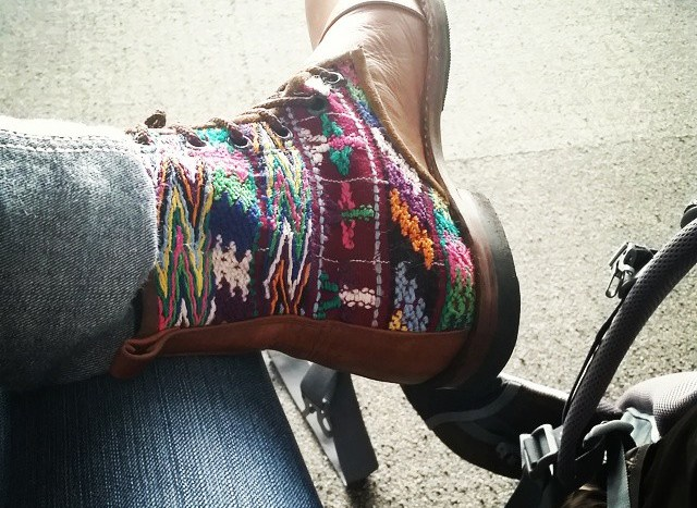 Boots from Guatemala
