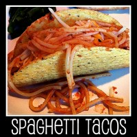 31 Days of Our Lives :: Day 27 ~ Spaghetti Tacos