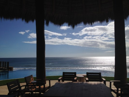 Ocean view from Mukul Resort and Spa on the Emerald Coast, Nicaragua.