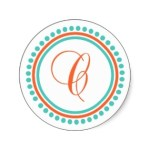 c_monogram_orange_teal_dot_circle_sticker-p2178111993594203430somv_315