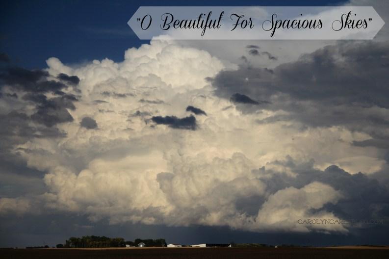 O Beautiful For Spacious Skies