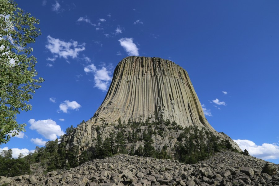 Devils Tower from the trail