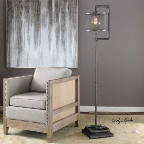 Medium Crop Of Industrial Floor Lamp