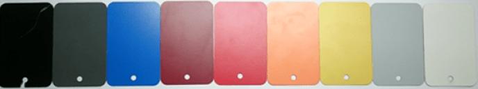 Colores en paneles fenólicos