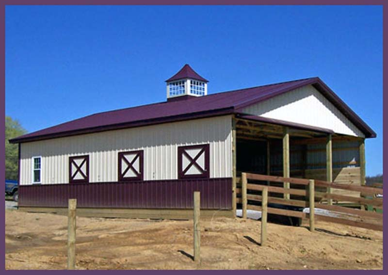Steel Buildings Barn_shop