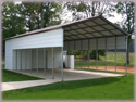 Steel Buildings Combination Carport and Storage