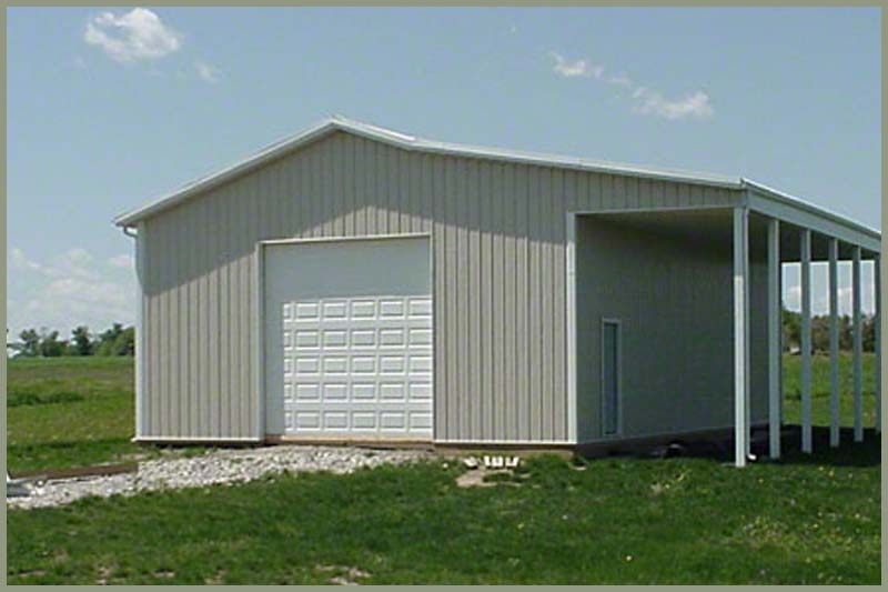 Steel Buildings garage_w_port