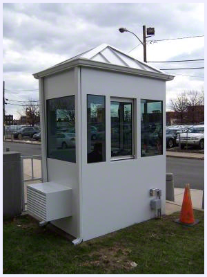 Steel Buildings Guard Shack