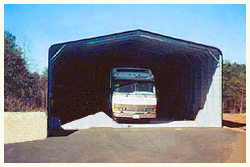 Steel Buildings 30 Foot X 41 Foot X 12 Foot Standard Style Both Sides, and 1 end enclosed