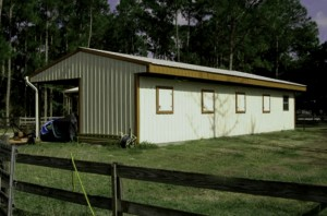 Steel Buildings storage and animal protection.