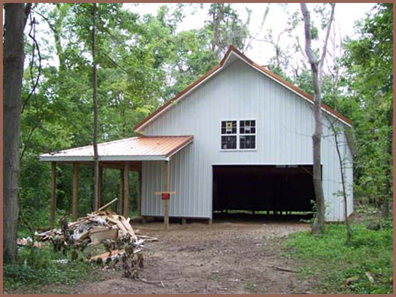 Steel Buildings woods_cabin