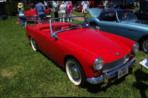 1964 Austin Healey Sprite MKII owned by Leonard Boyd of Kemah, TX