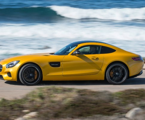 With Spring around the Corner so is the 2016 Mercedes-Benz AMG GT