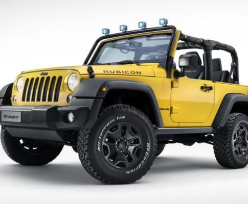 The Jeep Wrangler Rubicon Rocks Star: a Marriage of Mopar Parts