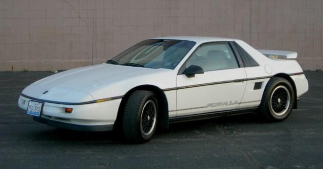 12.22.15 - 1988 Pontiac Fiero Formula