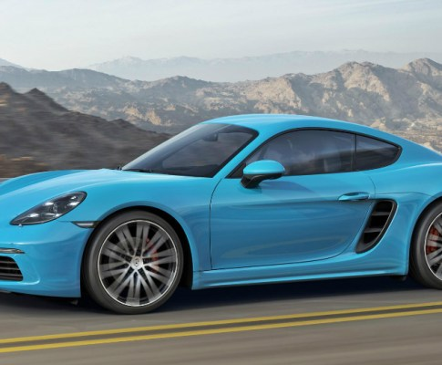 The 718 Cayman is a Thing of Beauty