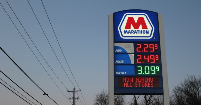 11.29.16 - Low Gas Prices