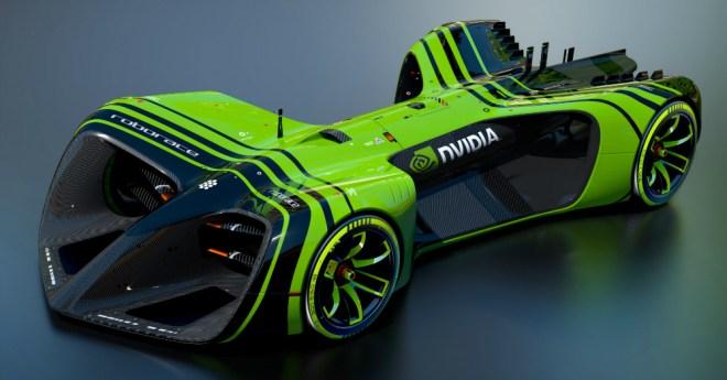 02.22.17 - Roborace NVIDIA Car