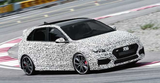 Excitement Coming from Hyundai and their new i30 N.