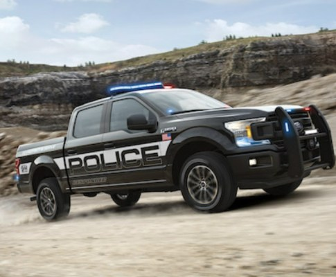 The Ford Police Interceptor Goes Hybrid
