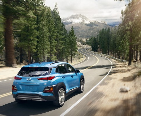 The New Hyundai Kona Brings You Smart Technology
