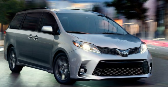 The Toyota Sienna Standing Tall in a Shrinking Market