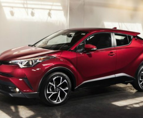 Stand Out on the Road in a Toyota C-HR