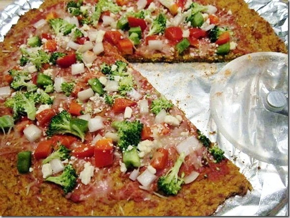 Paleo Potato Crust Pizza