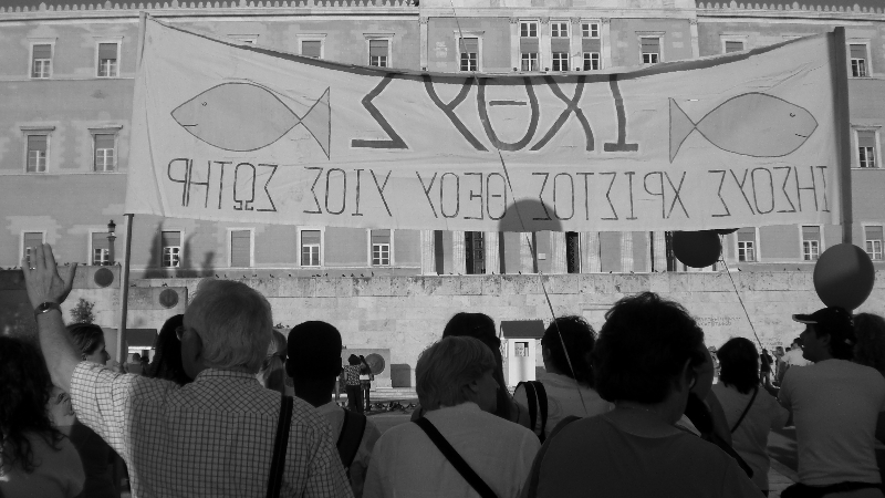 March for Jesus in Athens, Greece