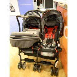 Small Crop Of Combi Double Stroller