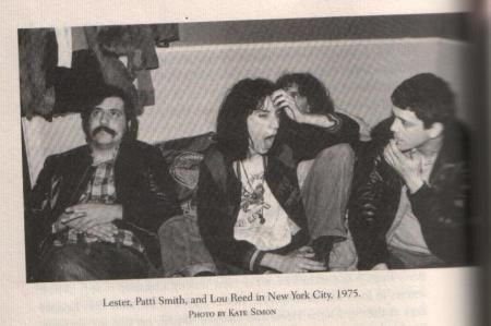 lester, Lou and patti smith