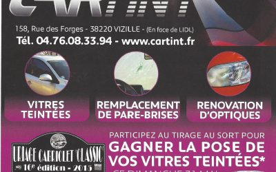 GRAND JEU CARTINT à URIAGE CABRIOLET « CLASSIC »