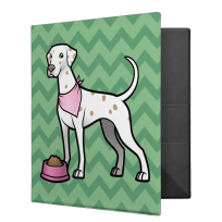 Cute Lemon Dalmatian Binder