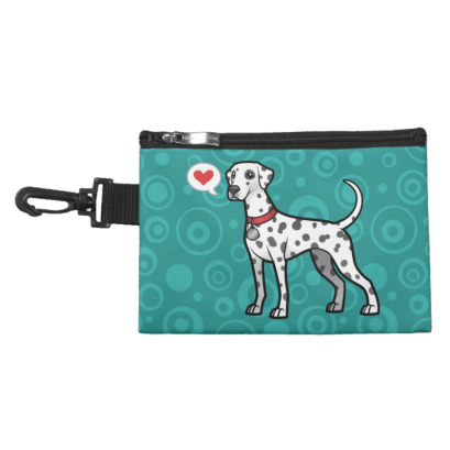 Dalmatian Clip-On Treat Bag