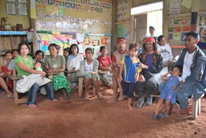 Assessment Meeting with Community Leaders and Parents