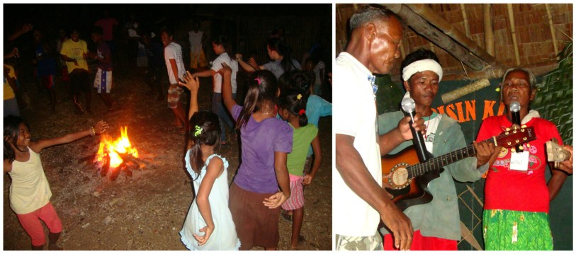 Community members young and old delight in celebrating their successful gathering with Tagbanua dances and songs during their Solidarity Night.