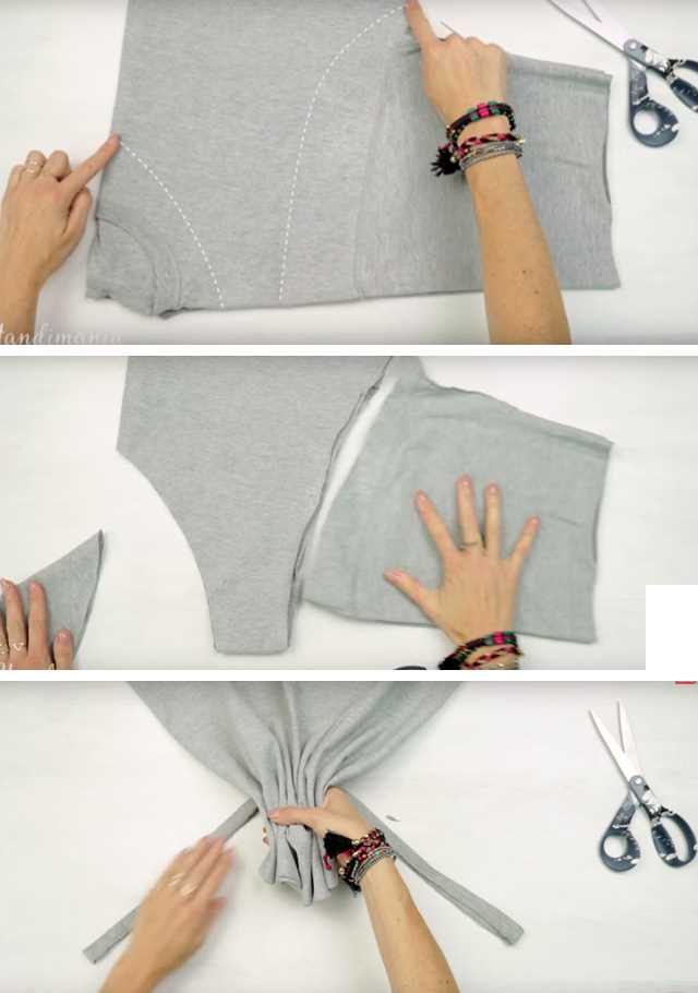 Návod, jak si ušít látkovou tašku bez šití + Video návod