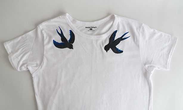 Návod, jak si vyrobit originální malované tričko_krok 4