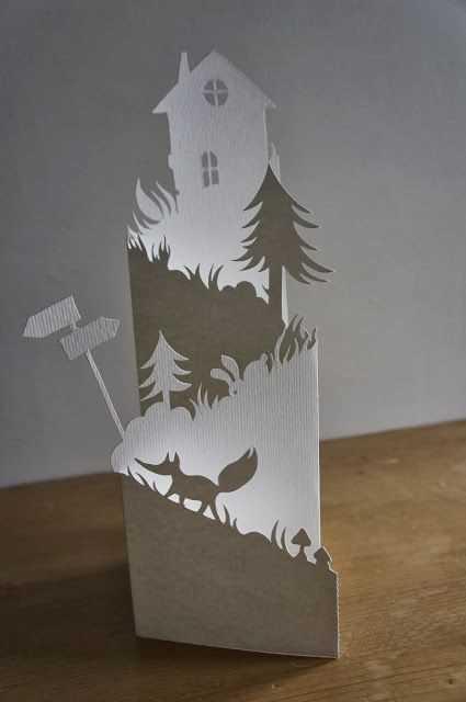 Karigami - krásné ozdobné vystřihovánky (1)