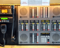 We utilize a Motorola Command Star Console as our 2nd radio back-up system. This console went in service in 2002, as our primary dispatch console and was recently moved over to 2nd back-up when our new TELEX console went online.