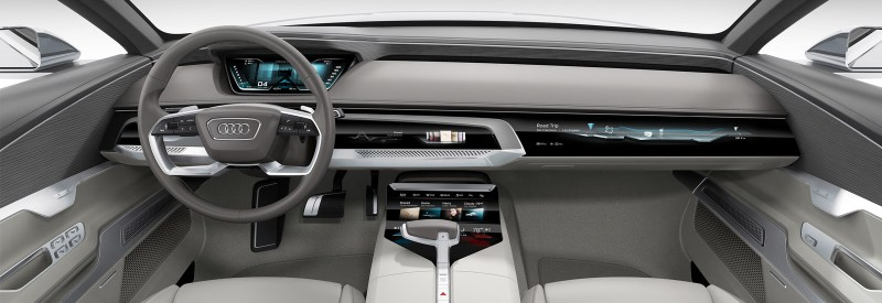 The Audi Prologue Concept Car Interior Shown Here Could Inspire Next A6