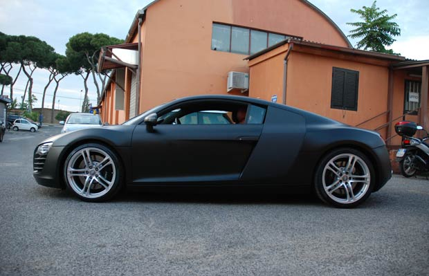 wrapping audi r8 by mp4 07