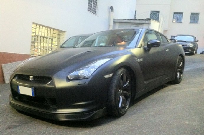 wrapping gtr nero opaco 3M 21