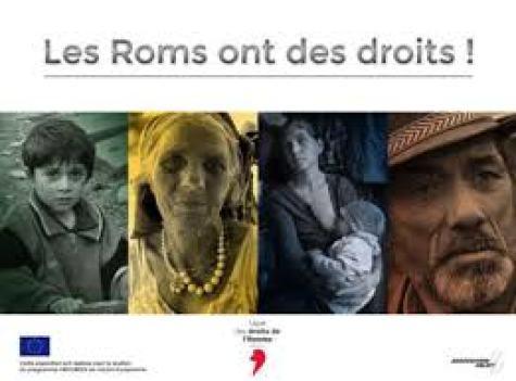 illustration expo les roms ont des droits