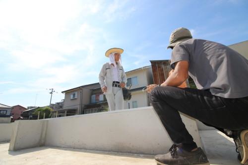 新築 医院 建前 vr画像 360度画像 福井 スタジオ・カーサ