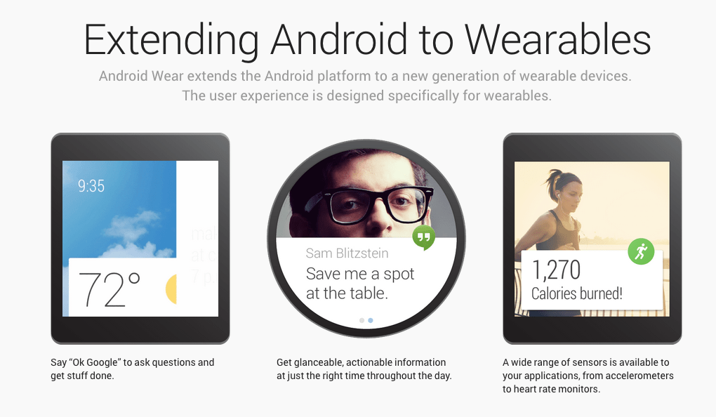 What Android Wear Means for Websites